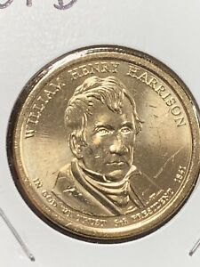 2009 D WILLIAM HENRY HARRISON PRESIDENTIAL DOLLAR COIN UNCIRCULATED
