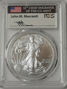 Click now to see the BUY IT NOW Price! 2015  P  $1 SILVER EAGLE PCGS MS70 MERCANTI SIGNED