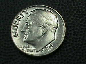 UNITED STATES   10 CENTS   1971 D   UNC      $ 3.99  MAXIMUM  SHIPPING  IN  USA