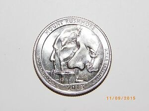 2013 D MOUNT RUSHMORE AMERICA THE BEAUTIFUL QUARTER