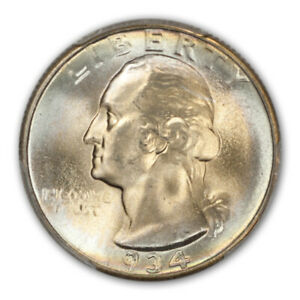 Click now to see the BUY IT NOW Price! 1934 25C LIGHT MOTTO WASHINGTON QUARTER PCGS MS67   CAC