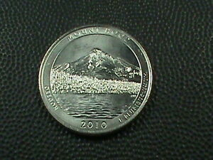 UNITED STATES  25 CENTS  2010 P  UNC     MOUNT HOOD    $ 3.99 MAX SHIPPING USA