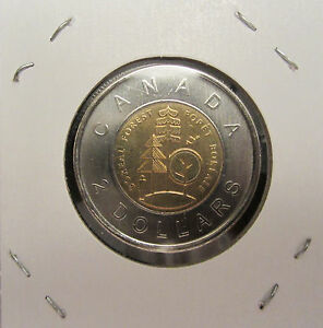 1911   2011 100TH ANNIVERSARY THE PARKS OF CANADA $2 TOONIE FROM MINT ROLLS UNC