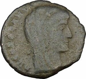 CONSTANTINE I THE GREAT CULT  ANCIENT ROMAN COIN CHRISTIAN DEIFICATION  I38128