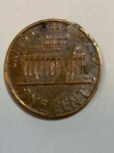 PENNY 1982 D SMALL DATE MINT ERROR