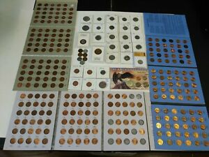 COIN LOT 1/5 WHEAT PENNIES PROOF KENNEDY BARBER NICKELS ERROR COINS & MORE