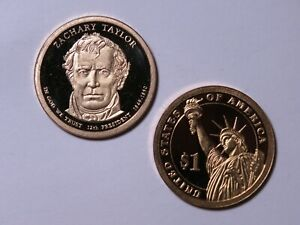 2009 S PRESIDENTIAL DOLLAR   PROOF   ZACHARY TAYLOR