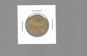 AK040:CANADA COIN   1987 FIRST YEAR OF THE LOONIE DOLLAR
