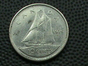 CANADA  10 CENTS  1976   COMBINED SHIPPING  .10 CENTS USA   .29 INTERNATIONAL