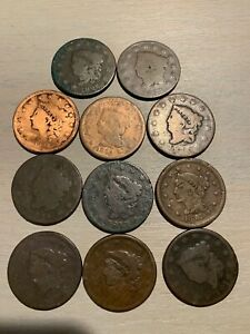 LARGE CENTS   1816 1856   $9.75 EACH