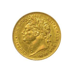 1822 SOVEREIGN GEORGE IV   J18