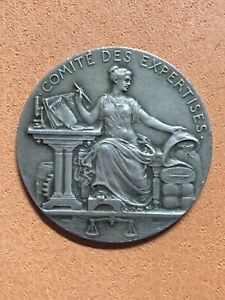 BEAUTIFUL ANTIQUE FRENCH REPUBLIQUE FRANCAISE MARIANNE MEDAL 1822 SILVER