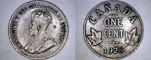 1928 CANADIAN 1 SMALL CENT WORLD COIN   CANADA
