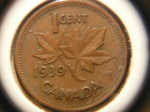 1939 ONE CENT