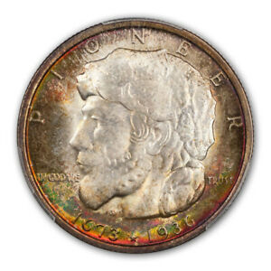 Click now to see the BUY IT NOW Price! ELGIN 1936 50C SILVER COMMEMORATIVE PCGS MS68   CAC