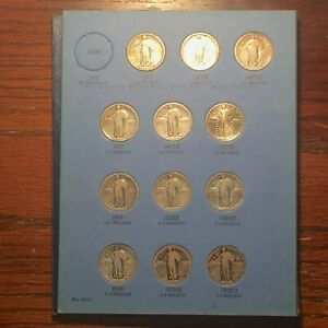 Click now to see the BUY IT NOW Price! COMPLETE STANDING LIBERTY QUARTER SET 1917 TO 1930    4