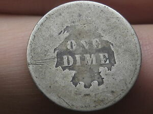 1860 1891 SEATED LIBERTY SILVER DIME
