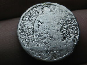 1876 P SEATED LIBERTY SILVER DIME