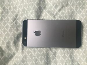 APPLE IPHONE SE   32GB   SPACE GRAY  UNLOCKED  A1662 FROM STRAIGHT TALK
