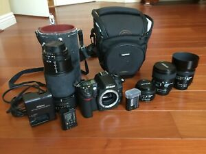 NIKON D D7000 16.2MP DIGITAL SLR CAMERA   BLACK KIT