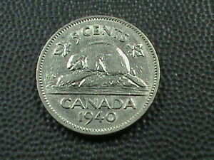 CANADA   5 CENTS   1940   COMBINED SHIPPING   .10 CENTS USA   .29 INTERNATIONAL