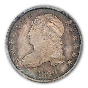 Click now to see the BUY IT NOW Price! 1829 10C LARGE 10C JR 2 CAPPED BUST DIME PCGS MS66