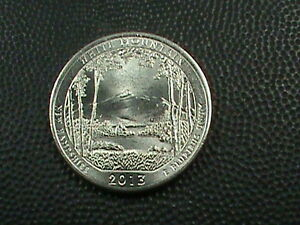 UNITED STATES   25 CENTS   2013 D  UNC  WHITE MOUNTAIN  $ 3.99 MAX SHIP IN USA