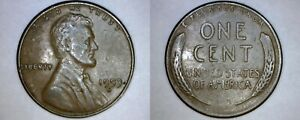 1953 S ABRAHAM LINCOLN WHEAT PENNY
