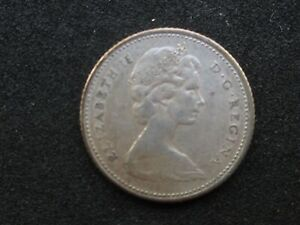 1966 CANADIAN BUSINESS STRIKE SILVER 10 CENT COIN  1557