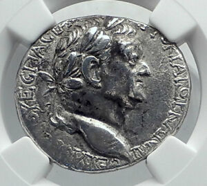 Click now to see the BUY IT NOW Price! VESPASIAN ORIGINAL ANCIENT 69AD ANTIOCH SILVER TETRADRACHM ROMAN COIN NGC I81699