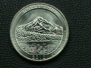 UNITED STATES 25 CENTS 2010 P UNC  MOUNT HOOD COMBINED SHIPPING .10 USA  .29 INT