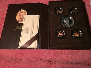2009 LINCOLN COIN AND CHRONICLES SET WITH BOX SLEEVE AND COA
