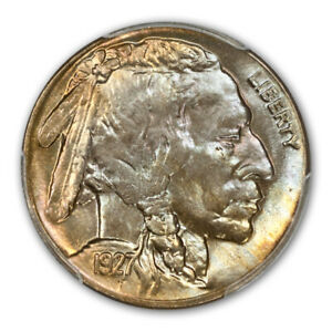 Click now to see the BUY IT NOW Price! 1927 D 5C BUFFALO NICKEL PCGS MS66