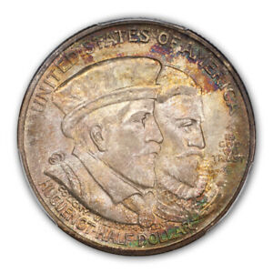 Click now to see the BUY IT NOW Price! HUGUENOT 1924 50C SILVER COMMEMORATIVE PCGS MS67   CAC