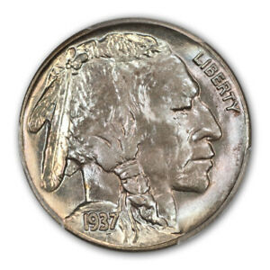 Click now to see the BUY IT NOW Price! 1937 S 5C BUFFALO NICKEL PCGS MS68