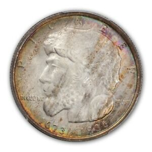 Click now to see the BUY IT NOW Price! ELGIN 1936 50C SILVER COMMEMORATIVE PCGS MS67   CAC