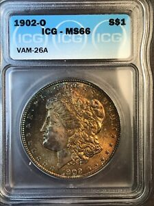 Click now to see the BUY IT NOW Price! 1902 O ICG MS66 VAM 26A SUPER CD