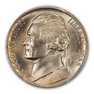 Click now to see the BUY IT NOW Price! 1938 D 5C JEFFERSON JEFFERSON NICKEL PCGS MS68FS