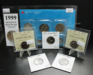 Click now to see the BUY IT NOW Price! WHOLESALE LOT OF CANADA MULE ERRORS CERTIFIED/RAW. 1999'S &1973 LARGE BUST. A015