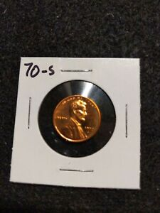 1970 S US PROOF LINCOLN CENT