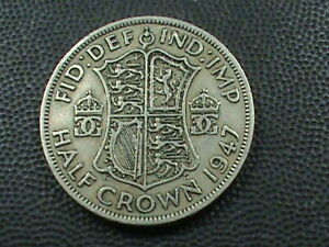 GREAT BRITAIN 1/2 CROWN 1947  COMBINED SHIPPING .10 CENTS USA  .29 INTERNATIONAL