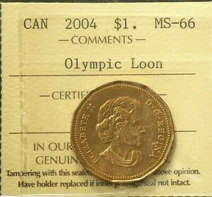 2004 Canada Special Edition Lucky Loonie 1 Dollar sealed UNC