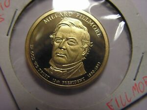 2010   S PRESIDENTIAL DOLLAR FILLMORE. PROOF.  A
