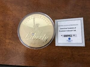 BEAUTIFUL COIN OF AMERICAN SYMBOLS OF FREEDOM COLOSSAL COLLECTION