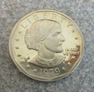1979 S SUSAN B. ANTHONY U.S. DOLLAR COIN : PROOF / UNGRADED : BUY IT NOW