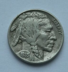 FIVE CENTS 1935 BUFFALO