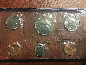 1991 P UNITED STATES GOVERNMENT MINT SET BRILLIANT UNCIRCULATED