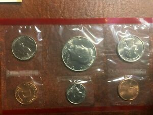 1990 D UNITED STATES GOVERNMENT MINT SET BRILLIANT UNCIRCULATED