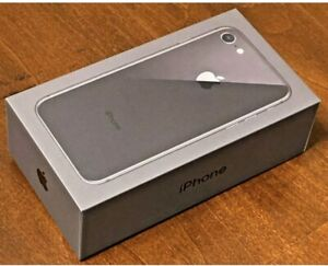 UNLOCKED APPLE IPHONE 8 GRAY 64GB A1863  CDMA   GSM  EXCELLENT CONDITION IN BOX