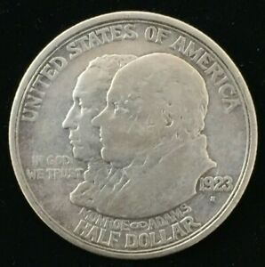1923 S SAN FRANCISCO MONROE DOCTRINE CENTENNIAL LOS ANGELES 50C HALF DOLLAR